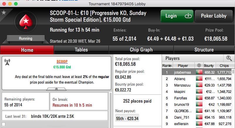 €50,608 Para Entregar  nos Eventos #1 do Spring Championship of Online Poker 101