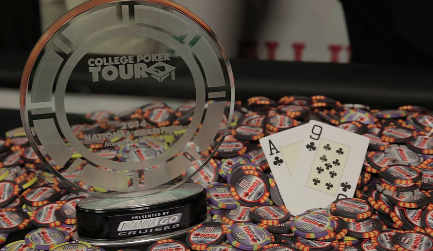 College Poker Tour Trophy