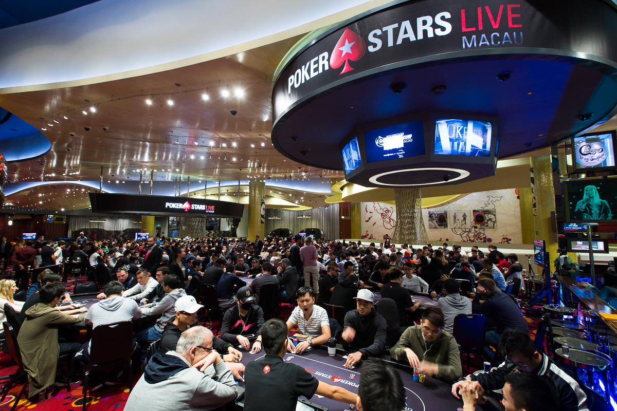 Pakinai Lisawad Leads Day 2 of PokerStars Championship Macau Main Event 101