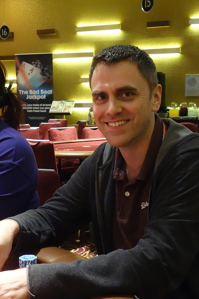 Paul Haycock: WCOAP Main Event Day 1a chip leader