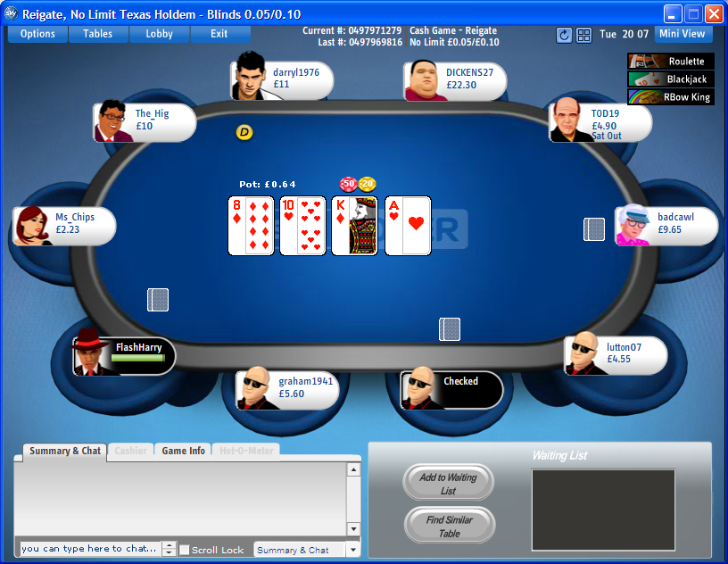 Sky Poker screenshot