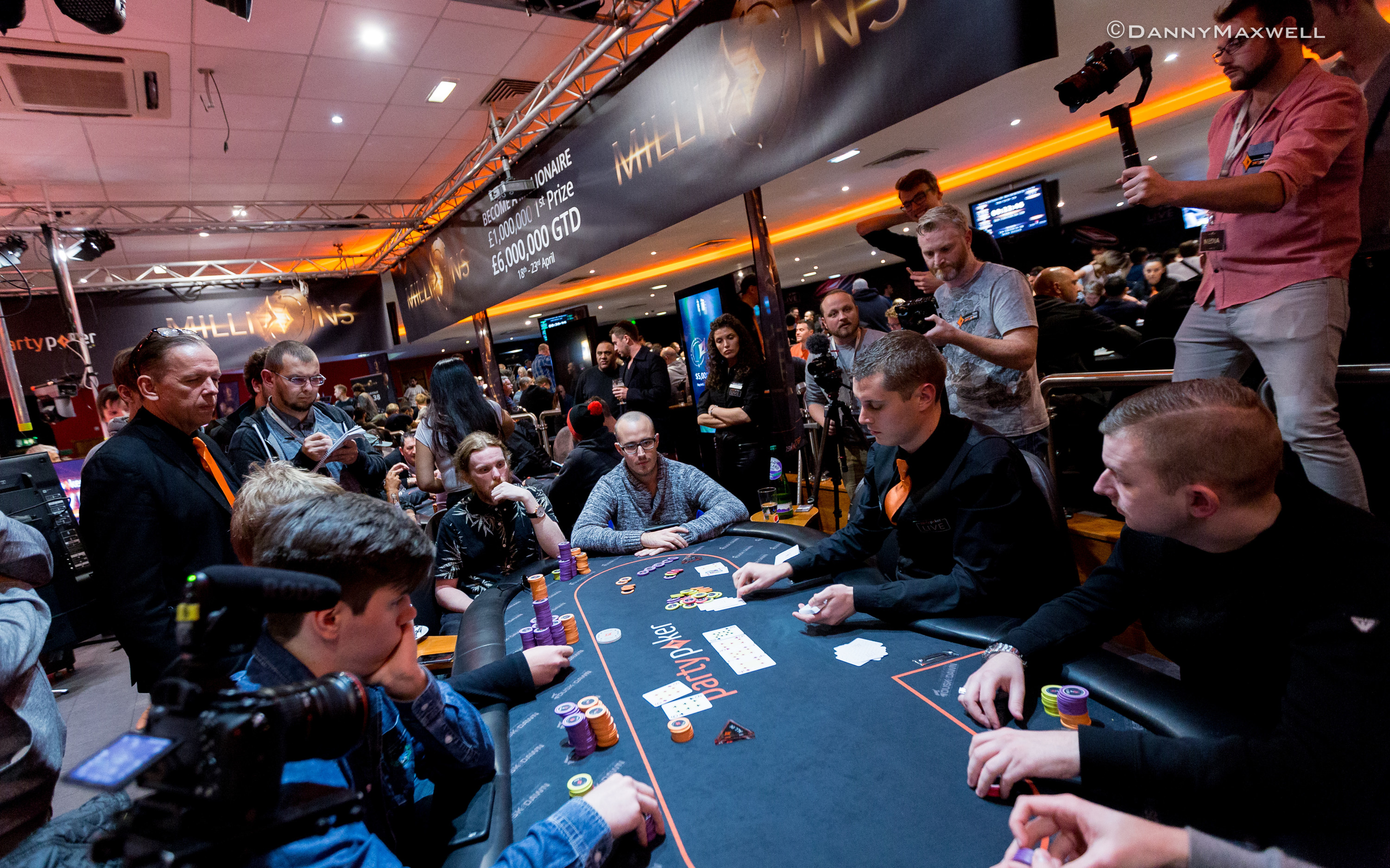 Jan-Eric Schwippert bubbles 2017 partypoker Millions Dusk Till Dawn £10,300 High