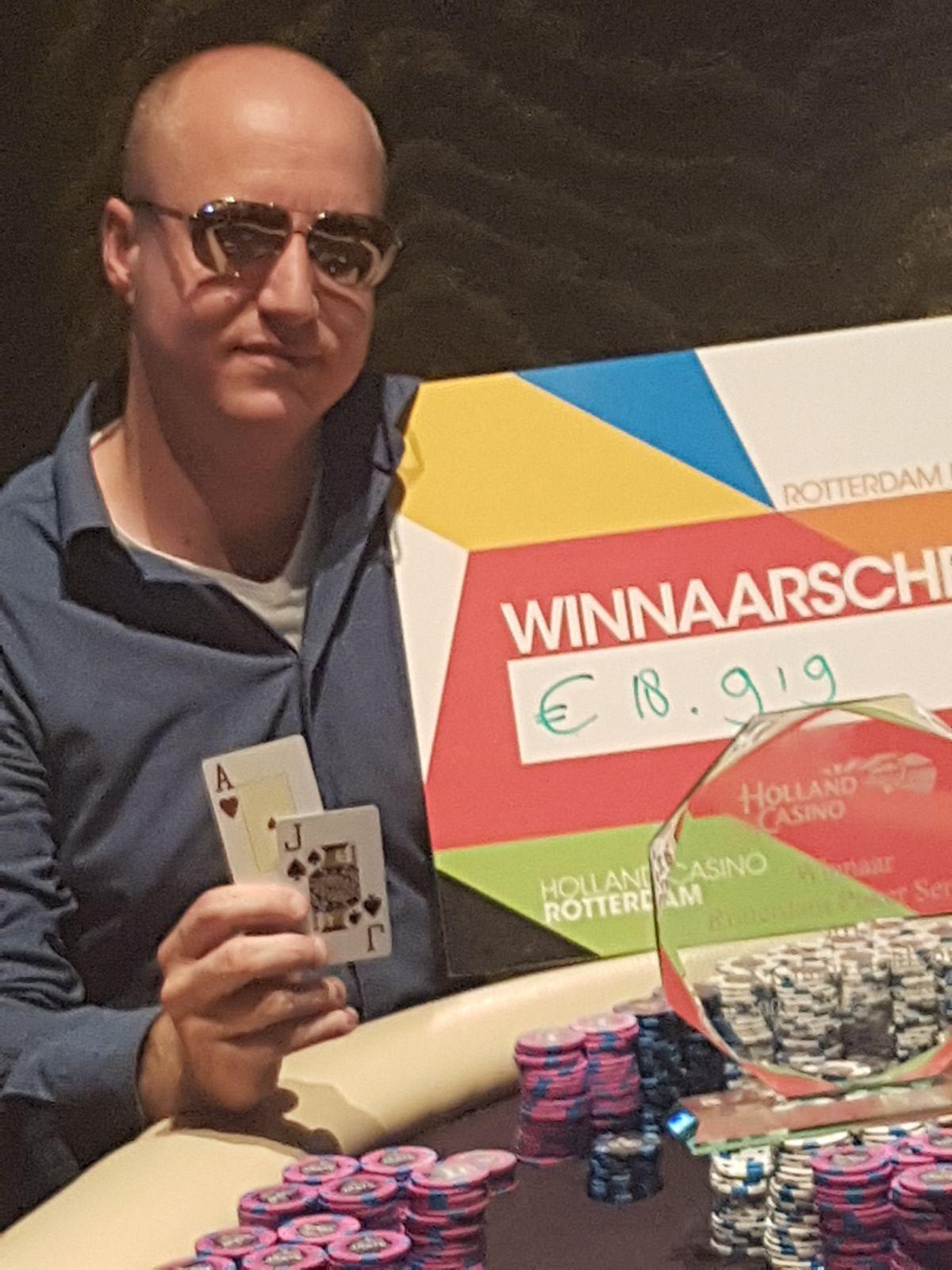 Rotterdam Poker Series - Overwinningen voor Thomas de Rooij & Pascal van Doorn 101