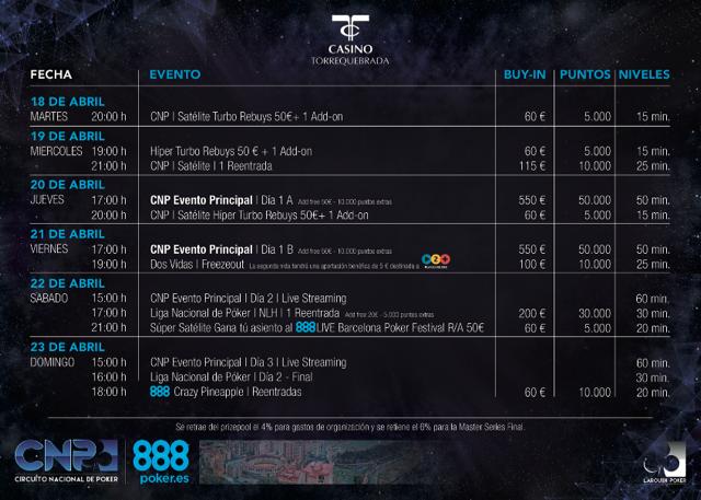 El Circuito Nacional de Poker estrena los colores de 888poker en Benalmádena 101