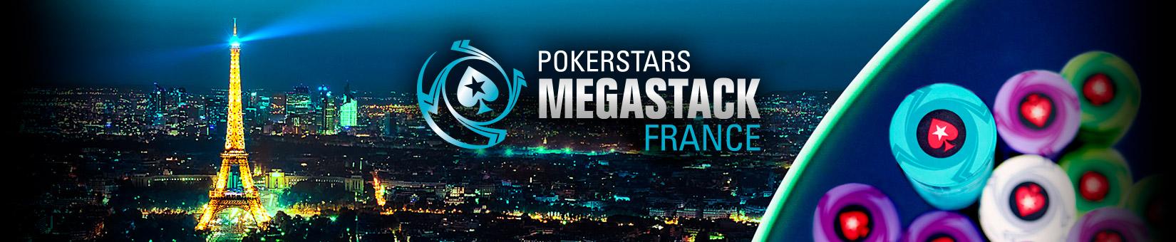 PokerStars MEGASTACK Франция