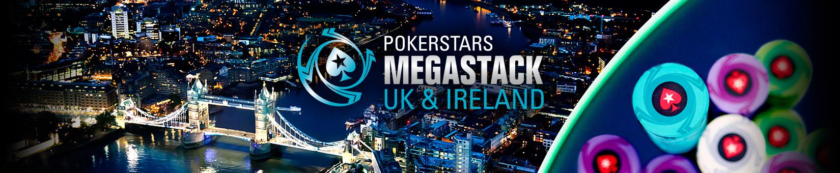 PokerStars MEGASTACK Англия и Ирландия