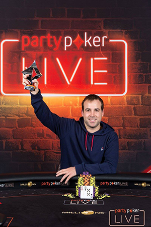 Moritz Dietrich Leads Final 45 in partypokerLIVE MILLIONS Main Event 101