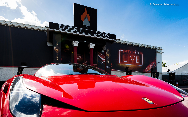 Dusk Till Dawn - partypokerLIVE - Ferrari