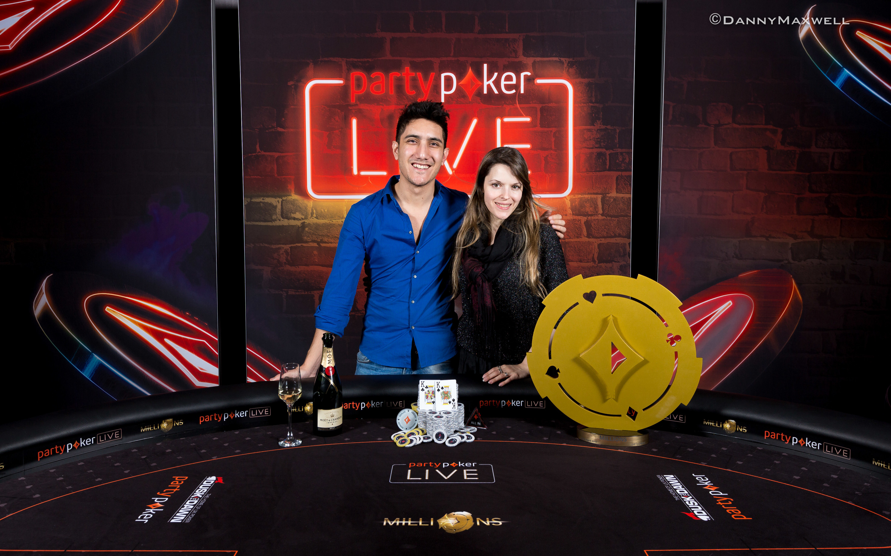 Maria Lampropulos - 2017 partypokerLIVE Millions Dusk Till DawnMain Event Winne