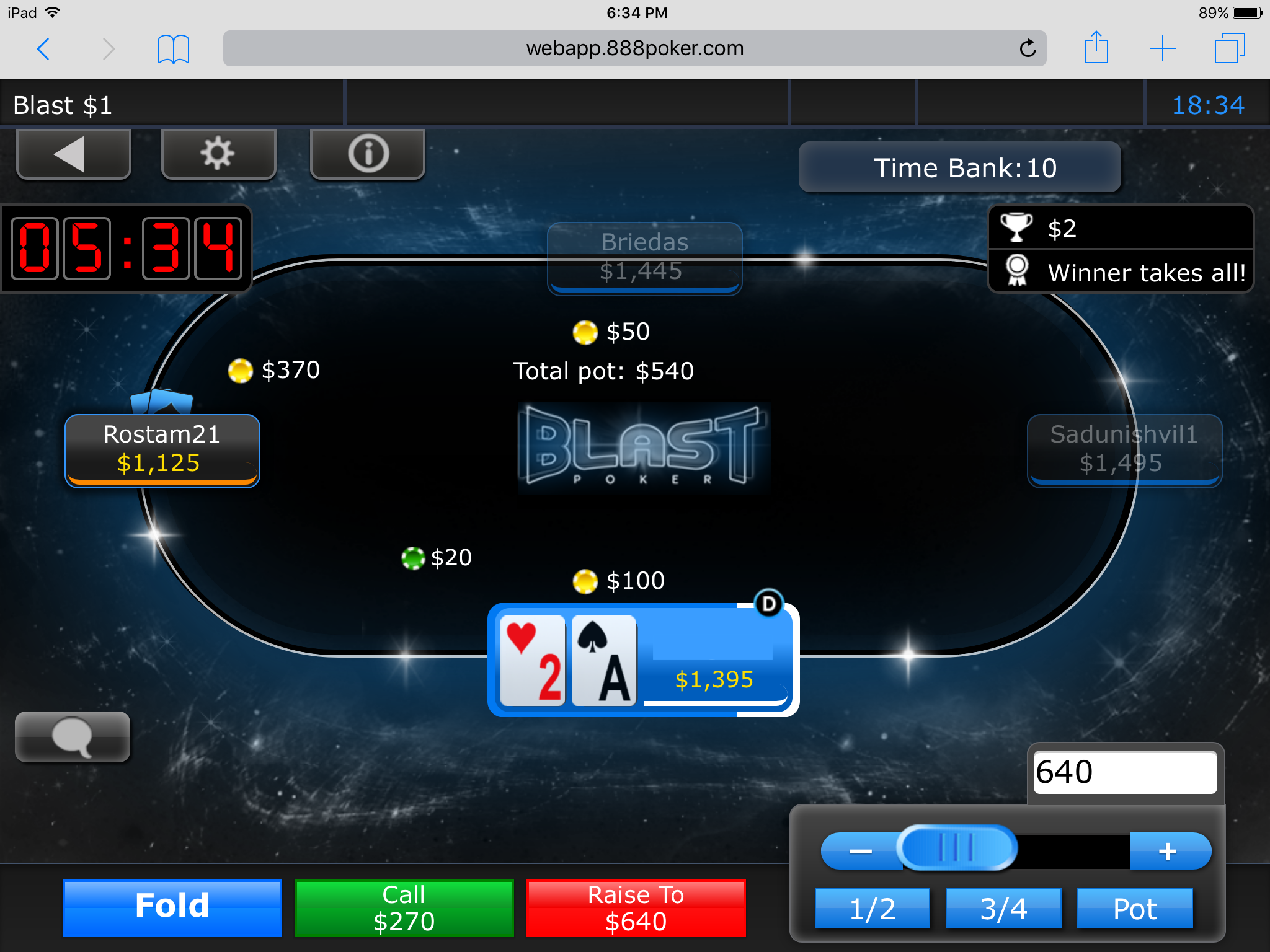 How To Play Poker On the Go with 888poker's App 112