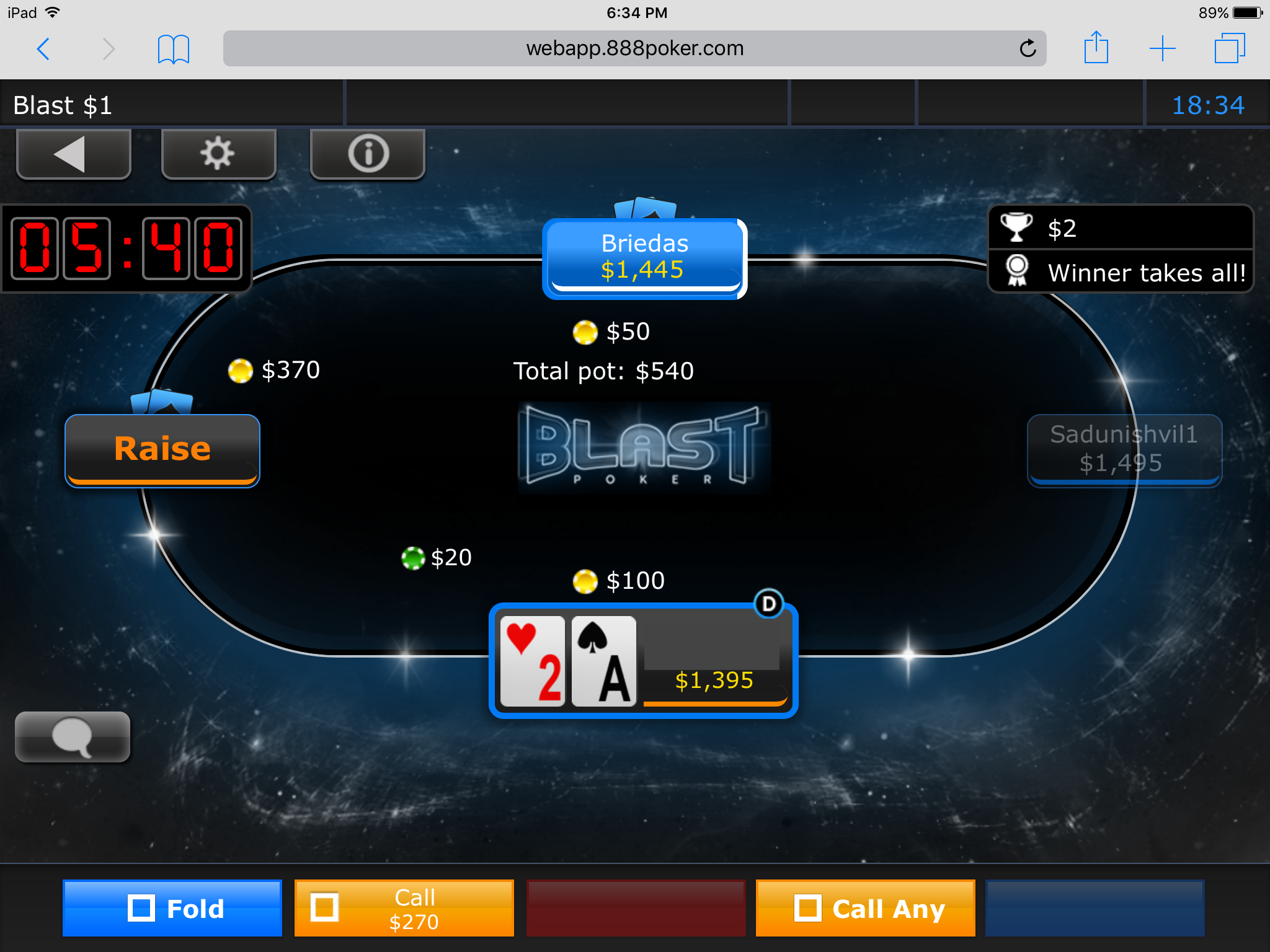 How To Play Poker On the Go with 888poker's App 106