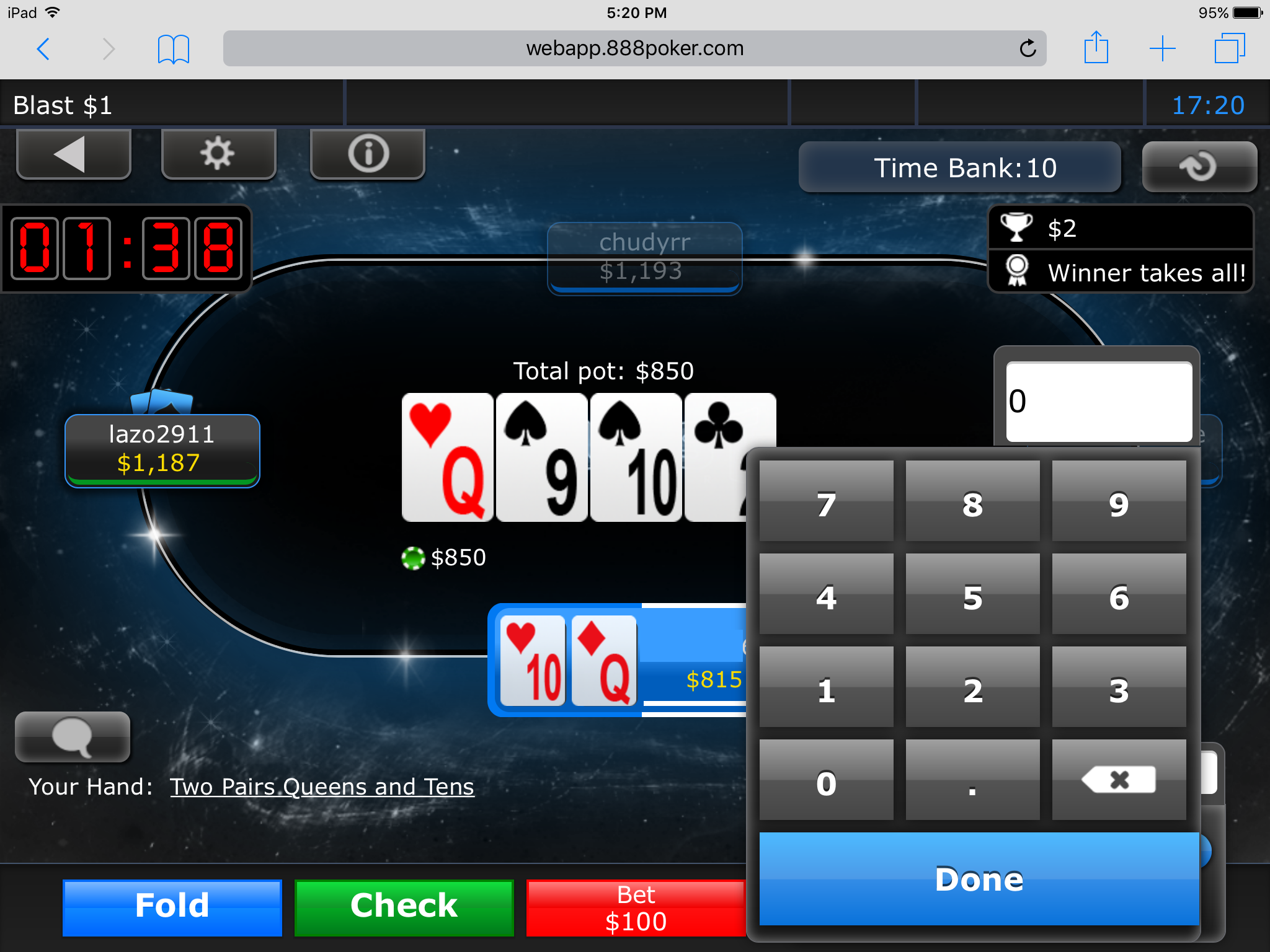 How To Play Poker On the Go with 888poker's App 114