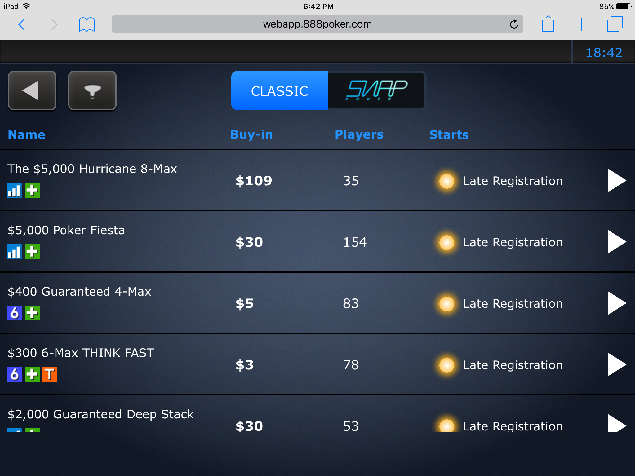 How To Play Poker On the Go with 888poker's App 110