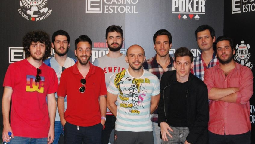 Bruno Pinto, André Emereciano e João Palminha decidem hoje quem é o Campeão do Big Stack... 101