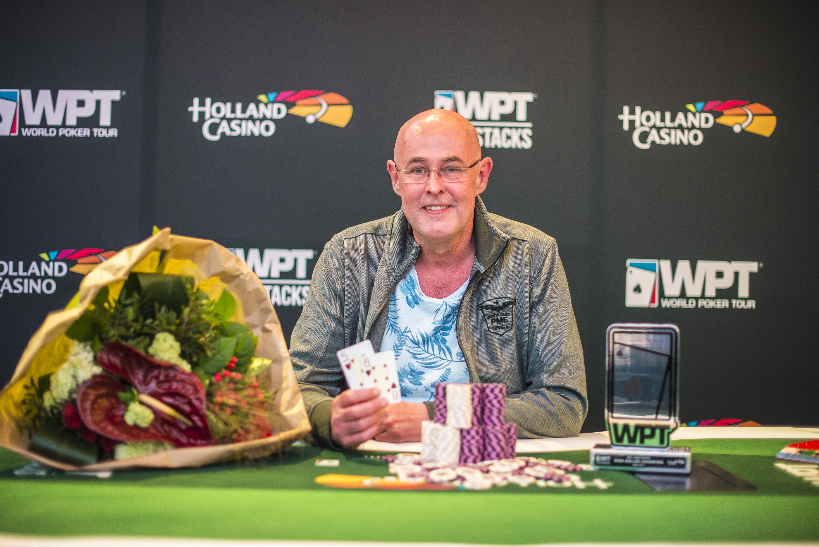 WPT Amsterdam | Rob Hollink wil weer meer gaan pokeren 101
