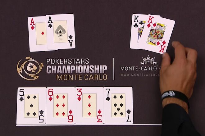PokerStars Championship Monte Carlo hand