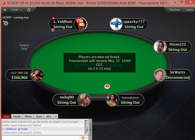 """2017 PokerStars SCOOP Dag 8 - """"EyesNvrLie"""" wint Event #24-M, """"etxnl04"""" pakt .699,13 in... 101"""