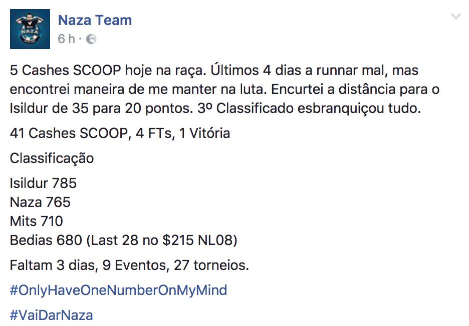 """João """"Naza114"""" Vieira Luta Hoje (novamente) pela Vitória no POY SCOOP Medium e Overall 101"""