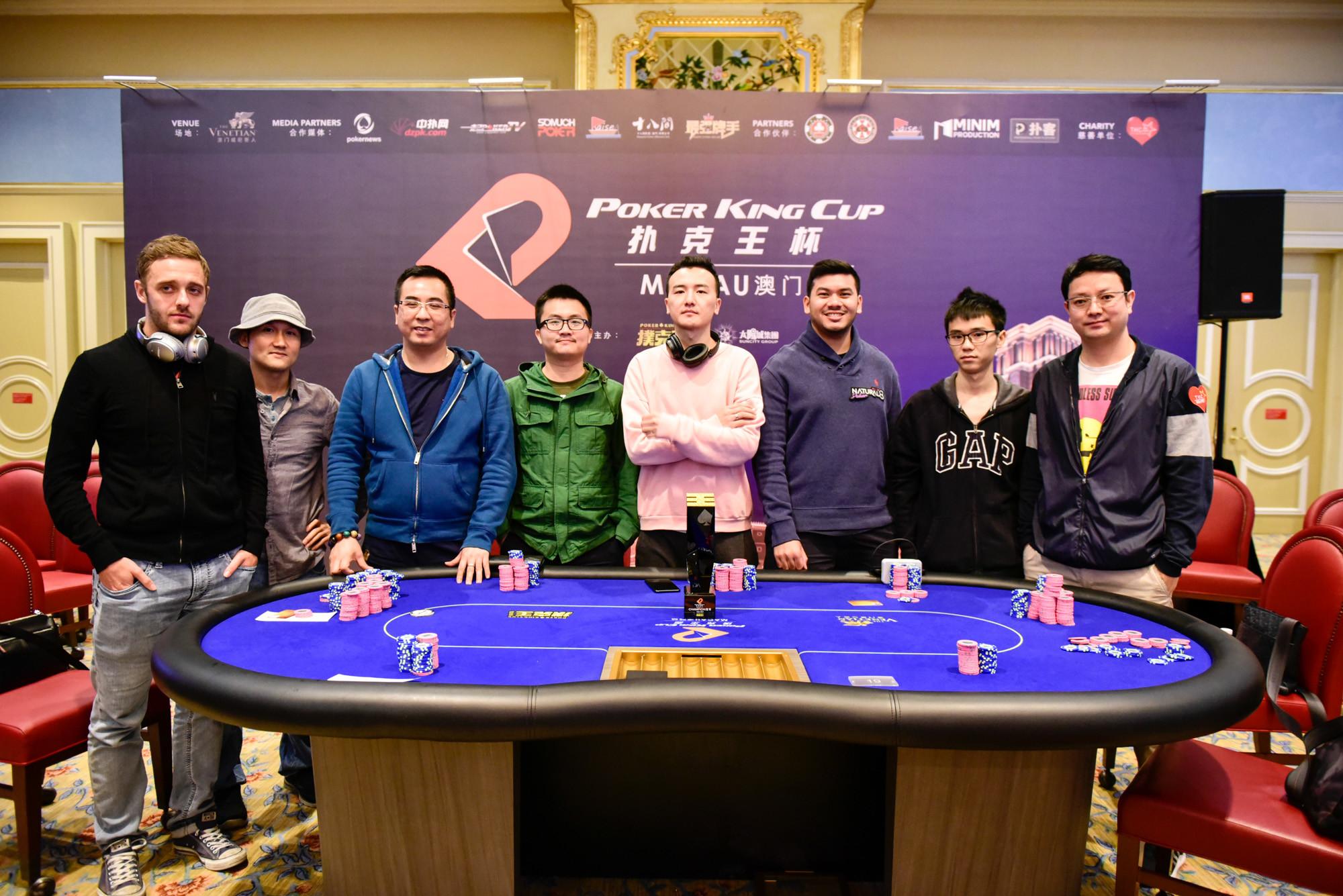 Zhong Yuan Hang Leads Final Table of Poker King Cup Macau 101