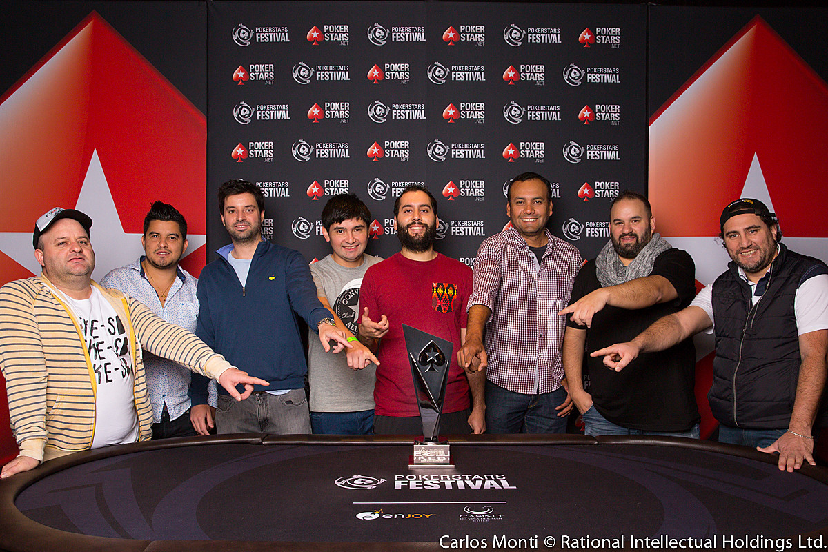 2017 PokerStars Festival Chile Finalists