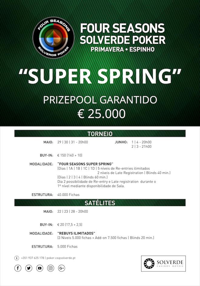 Arranca Hoje o Super Spring no Casino de Espinho 101