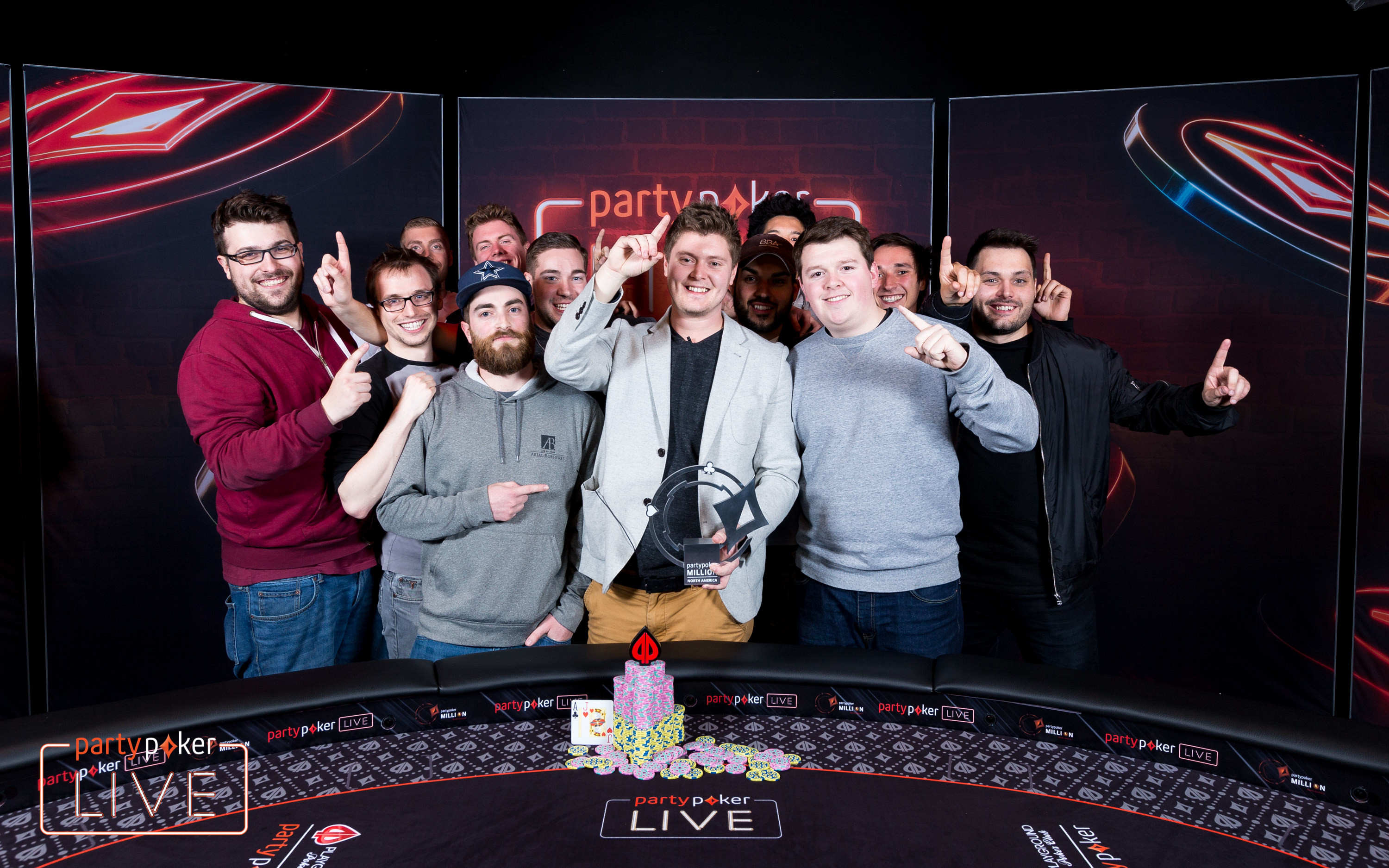 Jean-Pascal Savard - partypoker LIVE Million North America Main Event Winner