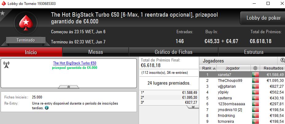 rogi1000, xaneta7 e jumbojane no Pódio de Terça na PokerStars.pt 102