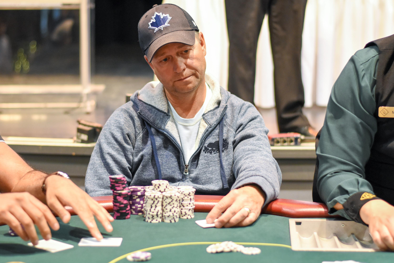 Daniel Lamb at Casino Regina 2017 Diamond Poker Classic