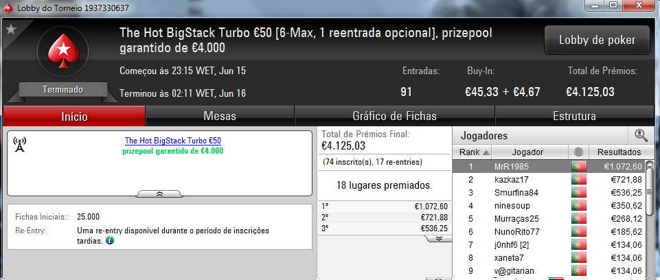 Gabijolie Vence The Big €100 e MrR1985 o The Hot BigStack Turbo €50 102