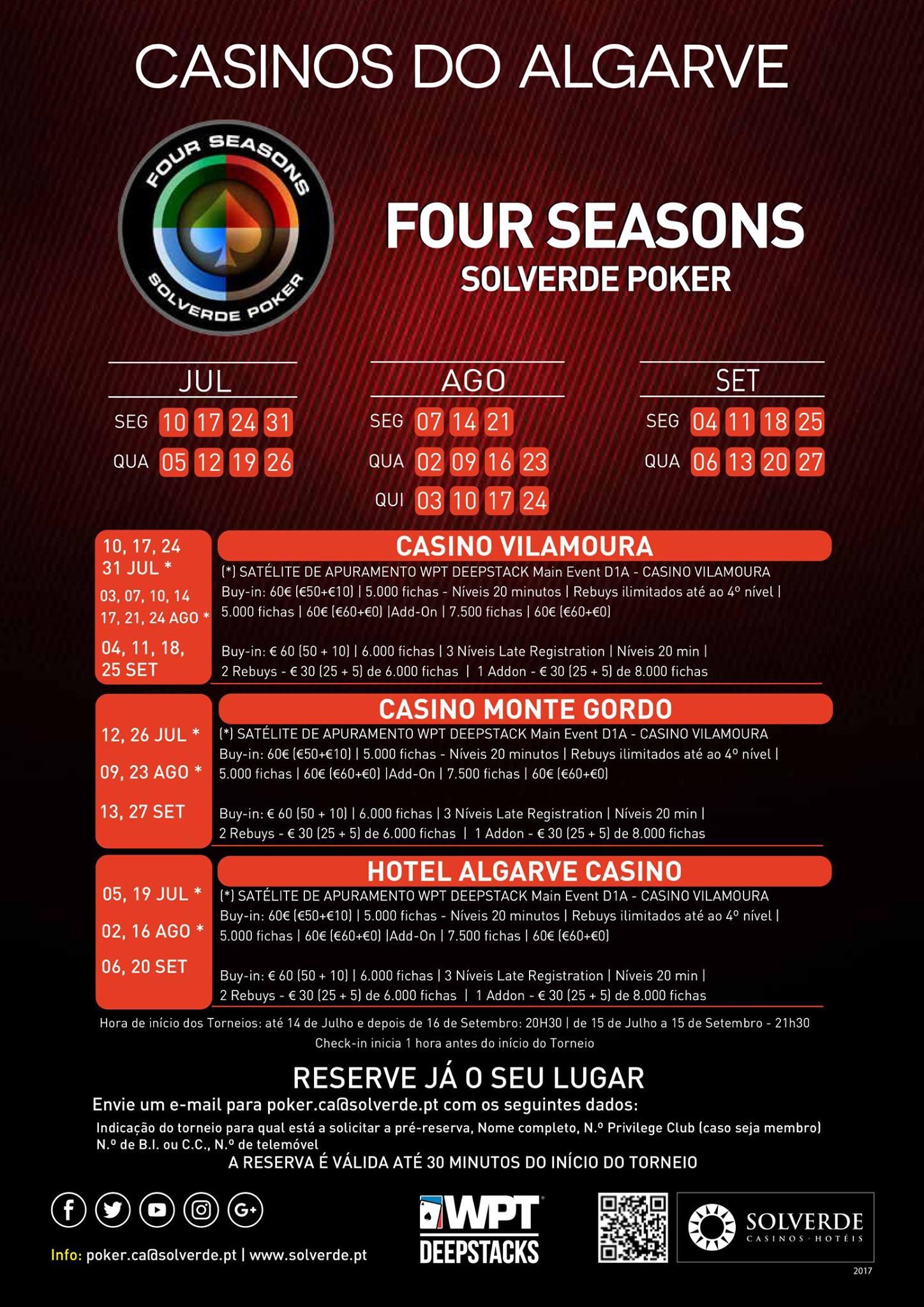 Arranca Hoje o Four Seasons Solverde Poker Verão no Algarve 101