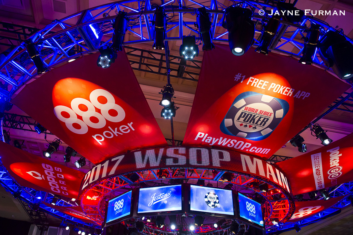 2017 WSOP Main Event Display