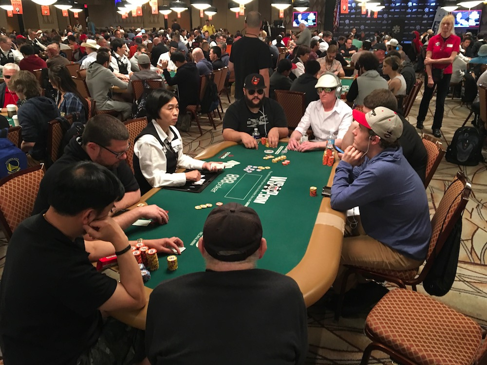 WSOP Strategy: At Table 147 With Henry Tran, Mustapha Kanit and Steve Bierman 101
