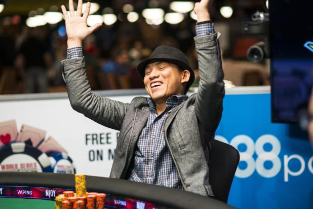 Split Pot Leads to Main Event Heater for Christian Pham 101