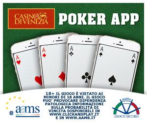 Arriva il Poker Mobile Del Gioco On Line Del Casinò di Venezia 101