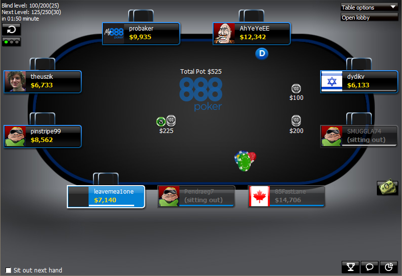 888poker throwing chips