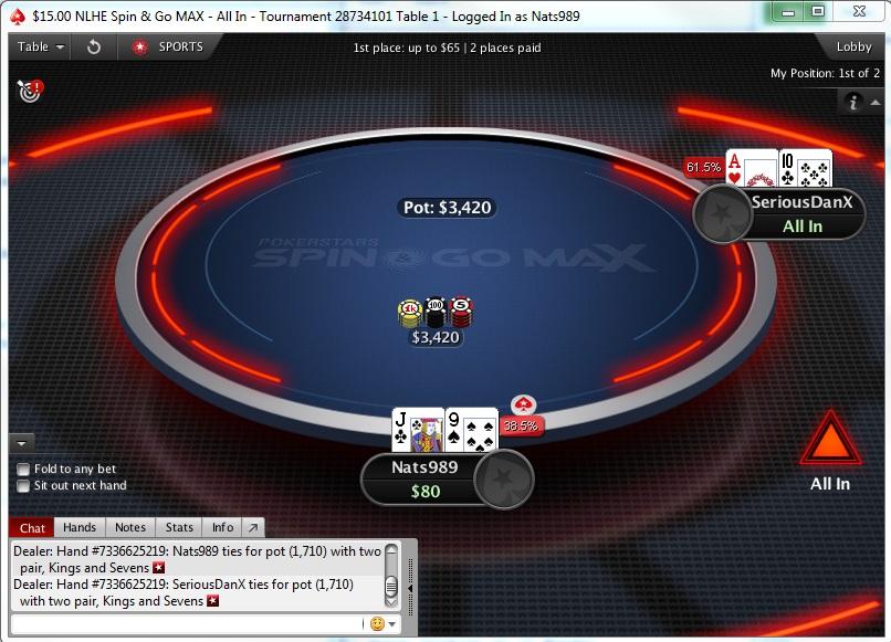 """PokerStars pristatė naujo formato """"Spin & Go MAX"""" turnyrus 103"""