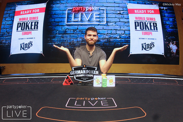 Jack Sinclair Defeats Tony G for High Roller Crown at German Poker Championship 101