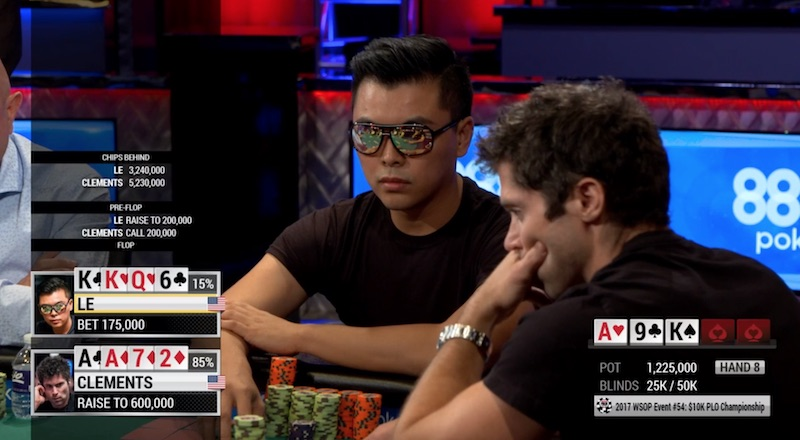 WSOP PLO Championship Winner Talks About Tells in Pivotal Hand 101