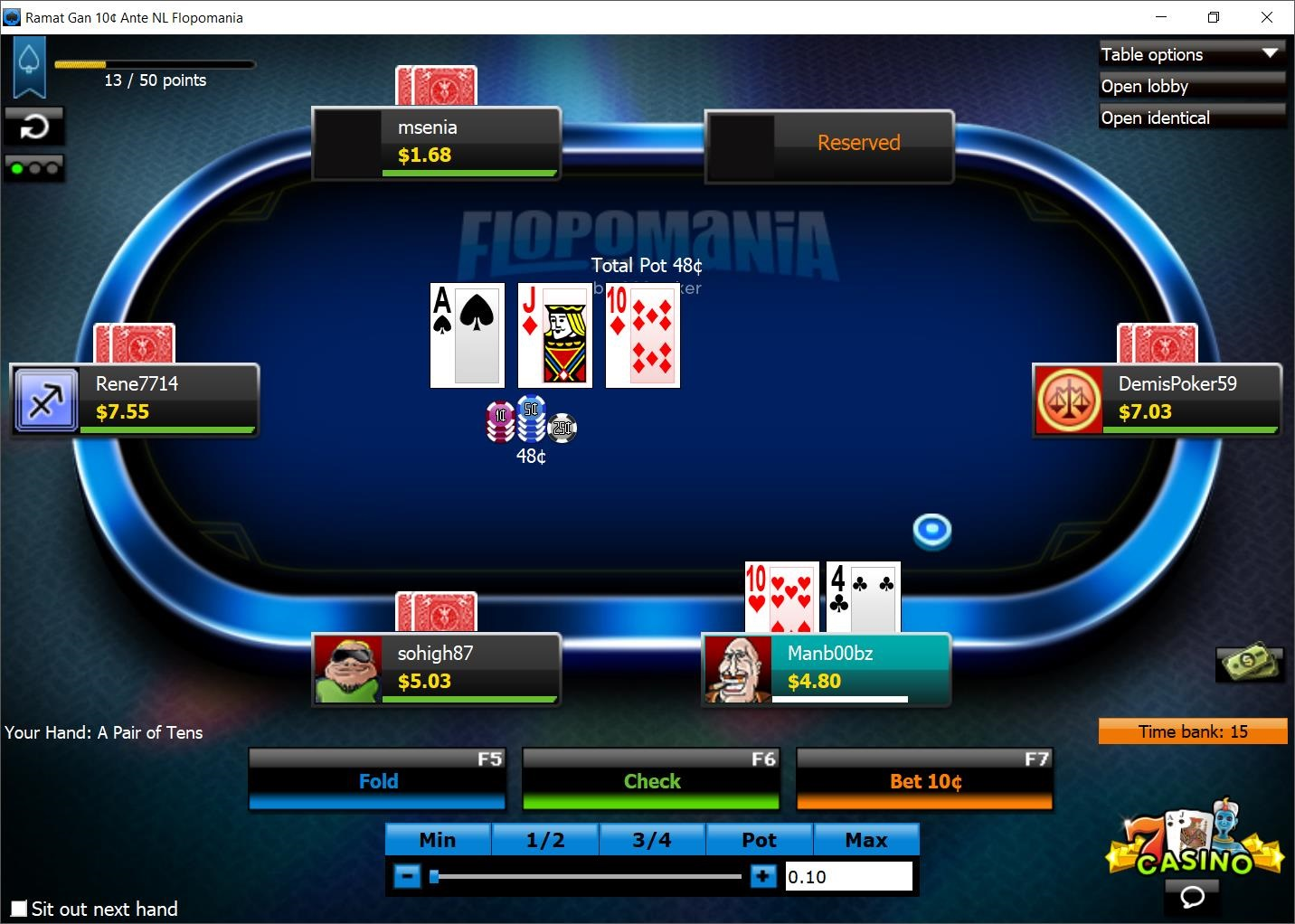 Review: Putting 888poker's 'Flopomania' to the Real-Money Test 101