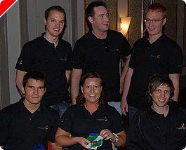 Team Betsson vinner lagtävling i Swedish Open Poker Championship 101