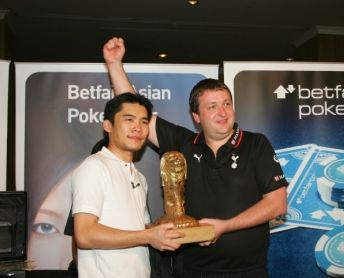 Tony G Wins the Betfair Asian Poker Main Event: Donates Half to Charity! 102