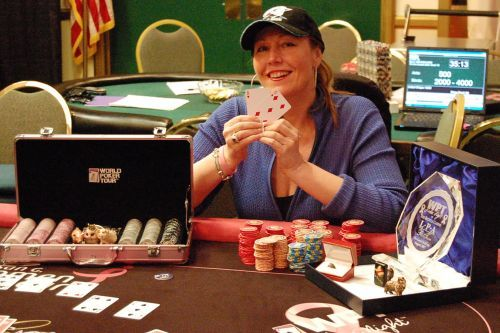 Women's Poker Spotlight, August 23rd, 2007: Pamela Brunson Wins Bike Ladies Legends Event 101