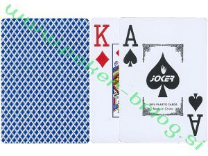 Test poker opreme: Igralne Karte 1/2 103