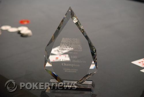 Aussie Millions Event #2, ,100 PLHE: Chris Chronis Divatos Győzelme 102