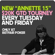"""Defronte Annette """"Annette_15"""" Obrestad na BetFair Poker 101"""