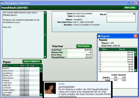 Cantinho Poker em Português 128