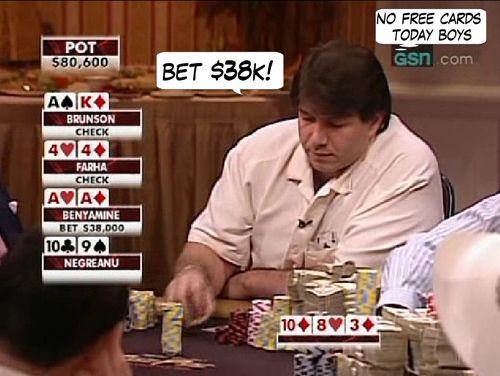 High Stakes Poker Cómico! Negreanu vs Benyamine 107