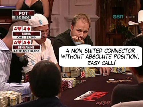 High Stakes Poker Cómico! Negreanu vs Benyamine 103