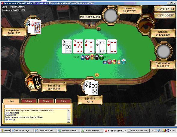 Tapatapa de Porto Alegre Ganha Maior Prémio Poker Jogador Brasileiro na Internet no Sunday... 101