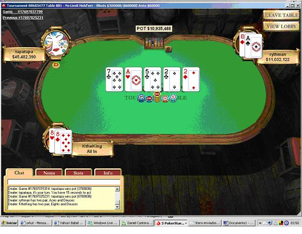 Tapatapa de Porto Alegre Ganha Maior Prémio Poker Jogador Brasileiro na Internet no Sunday... 104